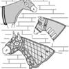 7570  Horse Hood Collection Pattern