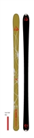 picture of the ID One USA Mogul ski MR-G1 173 or 178 cm in green