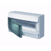Consumer units Mistral65 transparent door 18M