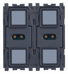 Eikon TACTIL KNX 4-button switch