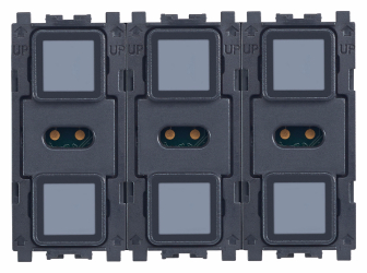Eikon TACTIL KNX 6-button switch
