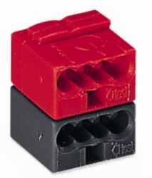 Connector For EIB applications Dark Gray/Red
