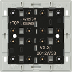 Push-button module 24 V AC/DC