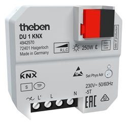 DU1 KNX box mount dimming actuator