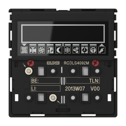 Room controller display module 2-gang