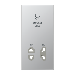 JUNG SOAL7522PL Centre plate for electric shaver socket outlet