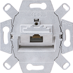 Modular jack socket, cat. 6/ cat 6A