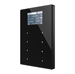 TMD-Display View 8 buttons and display Aluminium frame - Anthracite