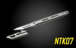 NITECORE NTK07 Titanium EDC Knife with Replaceable Blades