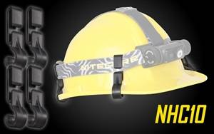NITECORE NHC10 Helmet Clip for Mounting Headlamps