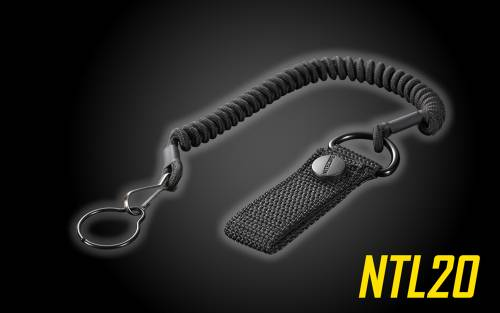 Tactical Lanyard with Belt Strap for Nitecore Flashlights