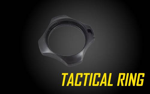 Tactical Ring (Cigarette Holder, Combat Ring) for Nitecore flashlights