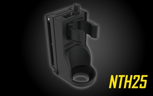 NITECORE NTH25 Rotary Flashlight Holster with Adjustable Belt Clip