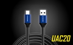 NITECORE UAC20 3.3ft USB Type C 3A Fast Charging Cable