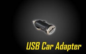 USB Car Adapter for USB Compatible Devices