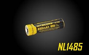 NITECORE NL1485 850mAh 14500 High Performance Li-ion Rechargeable Battery