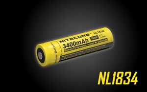 Nitecore NL1834  3400mAh 18650 Rechargeable Battery