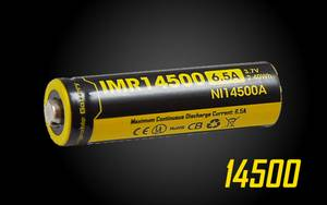Nitecore 14500 650mAh Battery