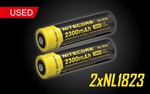 Nitecore NL1823 2300mAH 18650 Rechargeable Battery