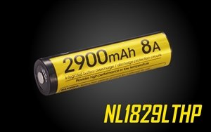 NITECORE NL1829LTHP 2900mAh 18650 Low Temperature Resistant High Performance Battery Rechargeable Li-ion Battery