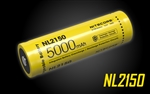 NITECORE NL2150 21700 5000mAh Rechargeable Li-ion Battery