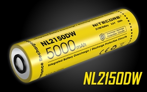NITECORE NL2150DW 21700 5000mAh Rechargeable Li-ion Battery