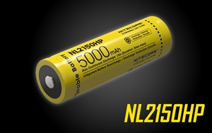 NITECORE NL2150HP 21700 5000mAh Rechargeable Li-ion Battery