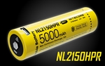 NITECORE NL2150HPR 21700 5000mAh USB-C Rechargeable Li-ion Battery