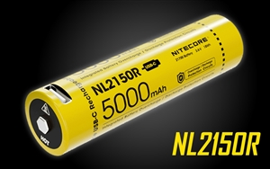 NITECORE NL2150R 21700 5000mAh USB-C Rechargeable Li-ion Battery