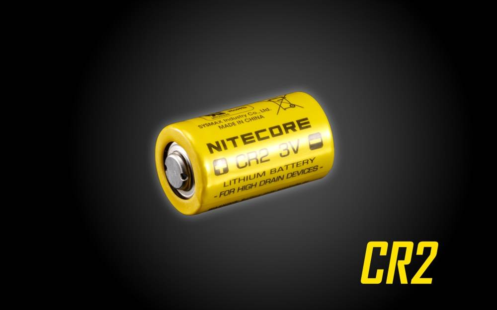 Nitecore CR2 3V Lithium Battery for High Drain Devices