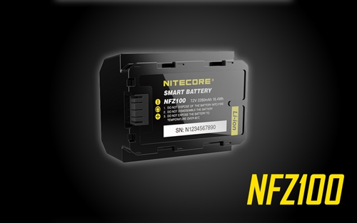 NITECORE NFZ100 Smart Camera Battery for Sony