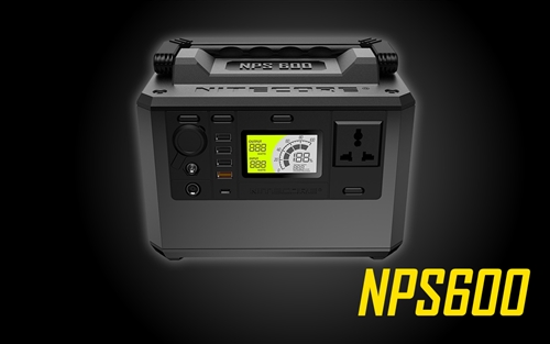 NITECORE NPS600 594Wh Portable Power Station