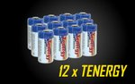 Dozen Tenergy 1300mAH CR123A Lithium Battery