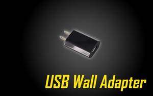USB Wall Adapter for USB Compatible Devices
