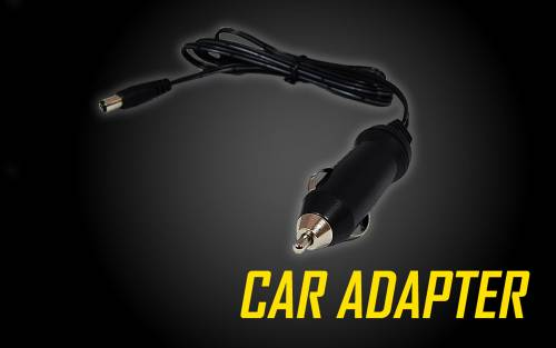 Car Adapter for Nitecore Flashlights