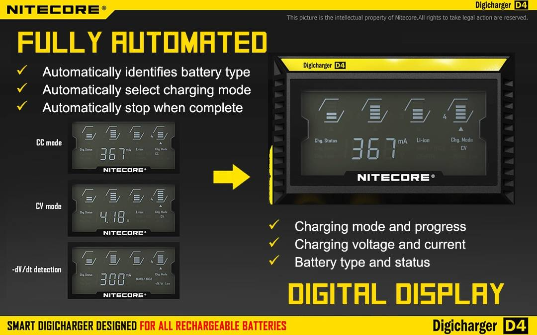 Image result for nitecore digicharger d4