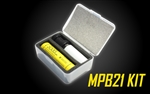 NITECORE Intelligent 21700 Battery System - MPB21 Kit: Lantern, Dual Function Battery Charger