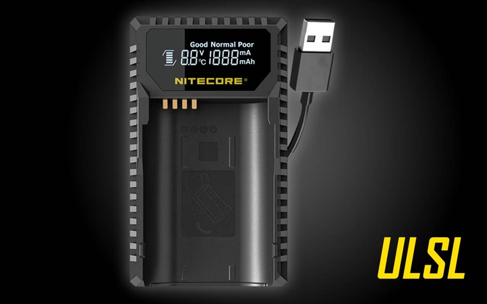 Nitecore Ulsl Leica Digital Usb Travel Battery Charger For