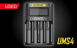 NITECORE UMS4 Intelligent USB Four-Slot Superb Battery Charger