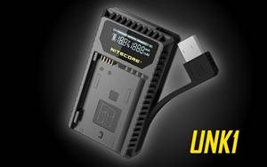 Nitecore UNK1 Nikon Battery Dual Port USB Travel Charger