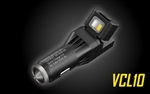 NITECORE VCL10 QuickCharge 3.0 USB Car Charger with White & Red Flashlight