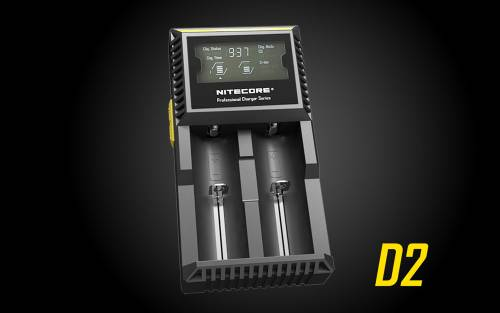 NiteCore D2 DigiCharger Universal Charger