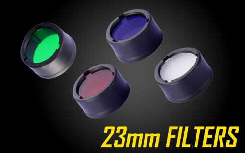 Nitecore Filters for 23mm Flashlights