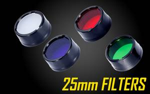Nitecore Filters for 25mm Flashlights