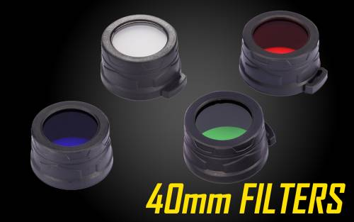Nitecore Red Green 40mm Filter Diffuser