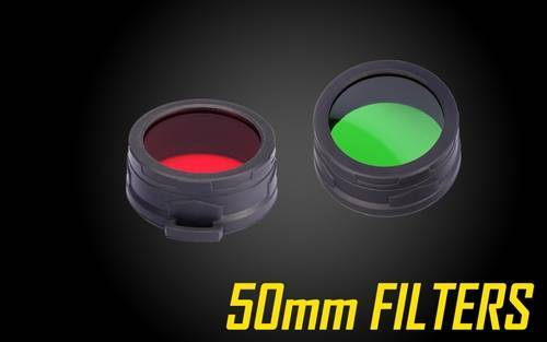Nitecore Filters for 50mm Flashlights