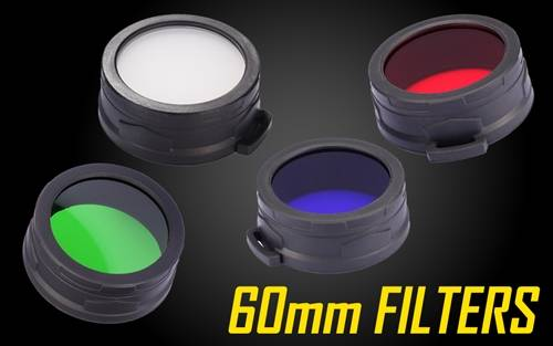 Nitecore Filters for 60mm Flashlights