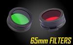Nitecore Filters for 65mm Flashlights