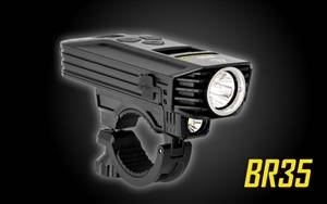 NITECORE BR35 1800 Lumen USB Rechargeable Dual Distance Beam Bike Light