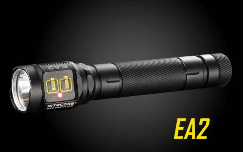 Nitecore EA2 320 Lumens CREE XP-G2 R5 LED Flashlight - Uses 2xAA